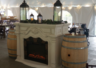 Tent-Fireplace-Display